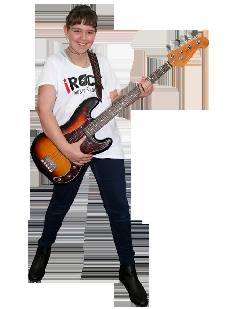 Bass Guitar Lessons Cranbourne | iROCK Music School